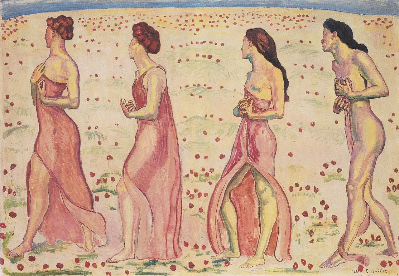 Ощущения__Чувства,__(1901-02)Ходлер, Фердинанд (1853-1918)