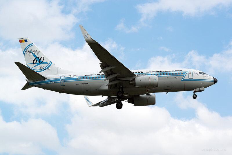 Boeing 737-78J (YR-BGG) Tarom D806146