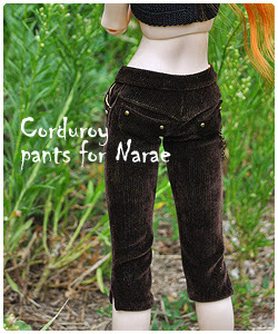Courduroy pants for Narae