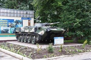 БМД-1П. Военная техника на территории 106 гв.дивизии ВДВ (бывшийТАИИ), Тула