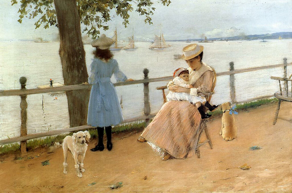 Afternoon by the Sea (aka Gravesend Bay), 1888.jpeg
