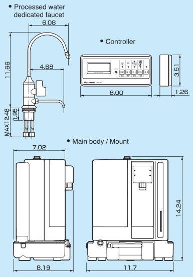 Ионизатор воды LeveLuk SD501 U