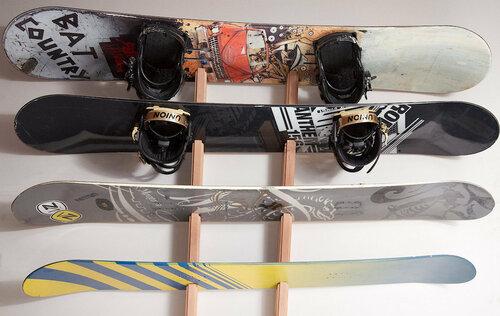 Крепления для сноуборда на стену