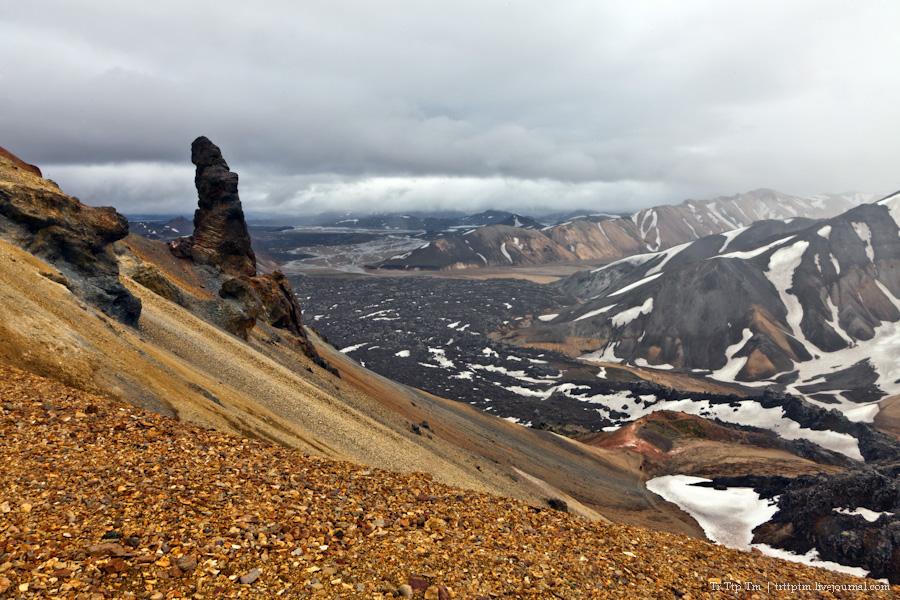 15. Цветные горы Ландманналойгар.
