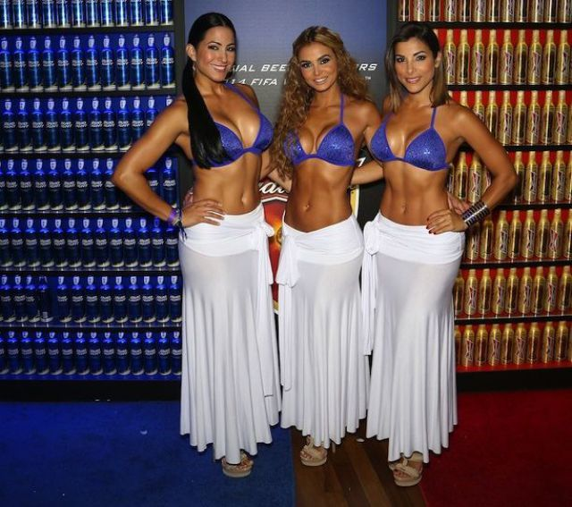 Bud Light And Budweiser Vegas World Cup Viewing Party - Day 2