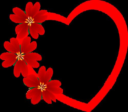 рамки романтические