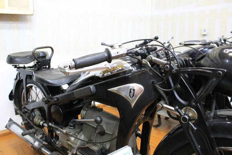 Музей мотоциклов.