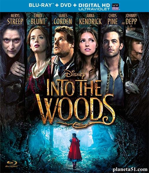 Чем дальше в лес... / Into the Woods (2014/BDRip/HDRip)