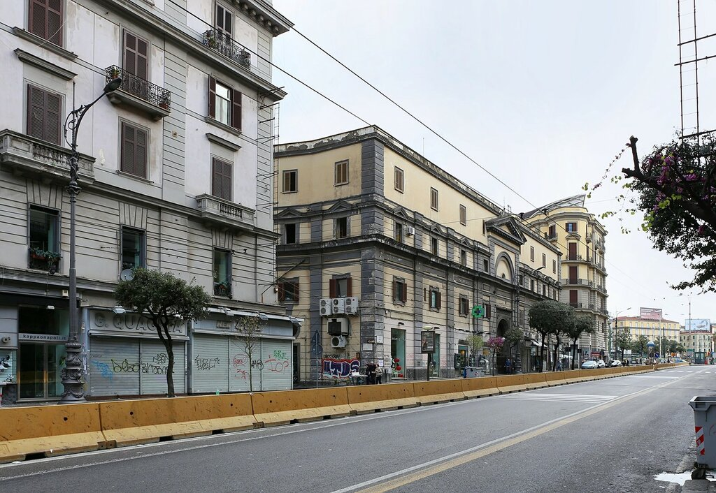Naples. Vicinity Of The Port Of Nolan