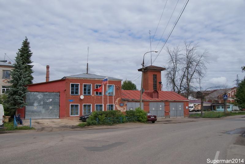 Заброшенная пожарная часть в городе Дрезна орехово-зуевский район