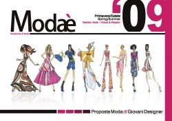 Modae (Primavera / Estate.Spring / Summer 2009) Fashion Book.Mood & Passion