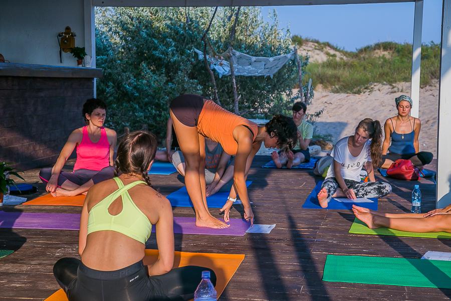 йога на море в Анапе