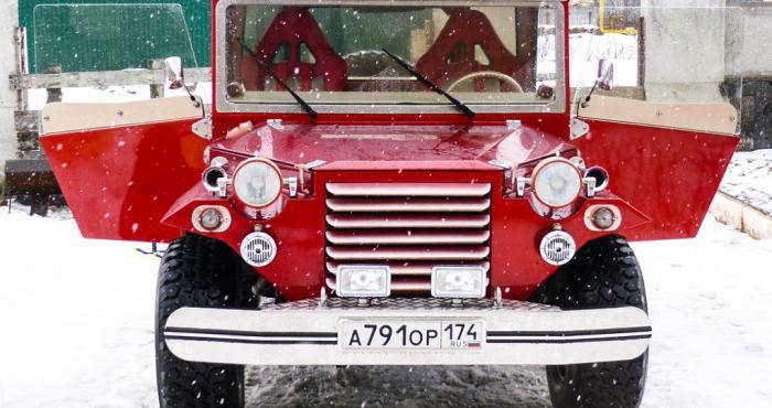 Кастом ГАЗ-67 из Челябинска