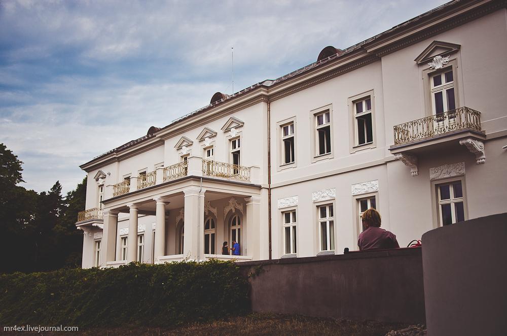 Парк в Паланге, дворец Тышкявичюсов, музей Янтаря