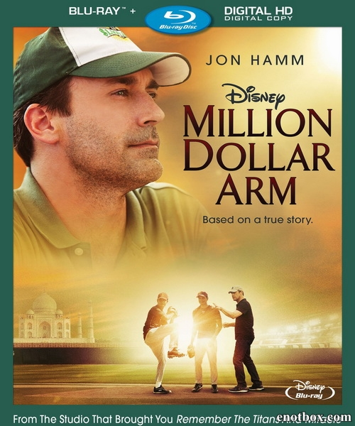 Рука на миллион / Million Dollar Arm (2014/BD-Remux/BDRip/HDRip)