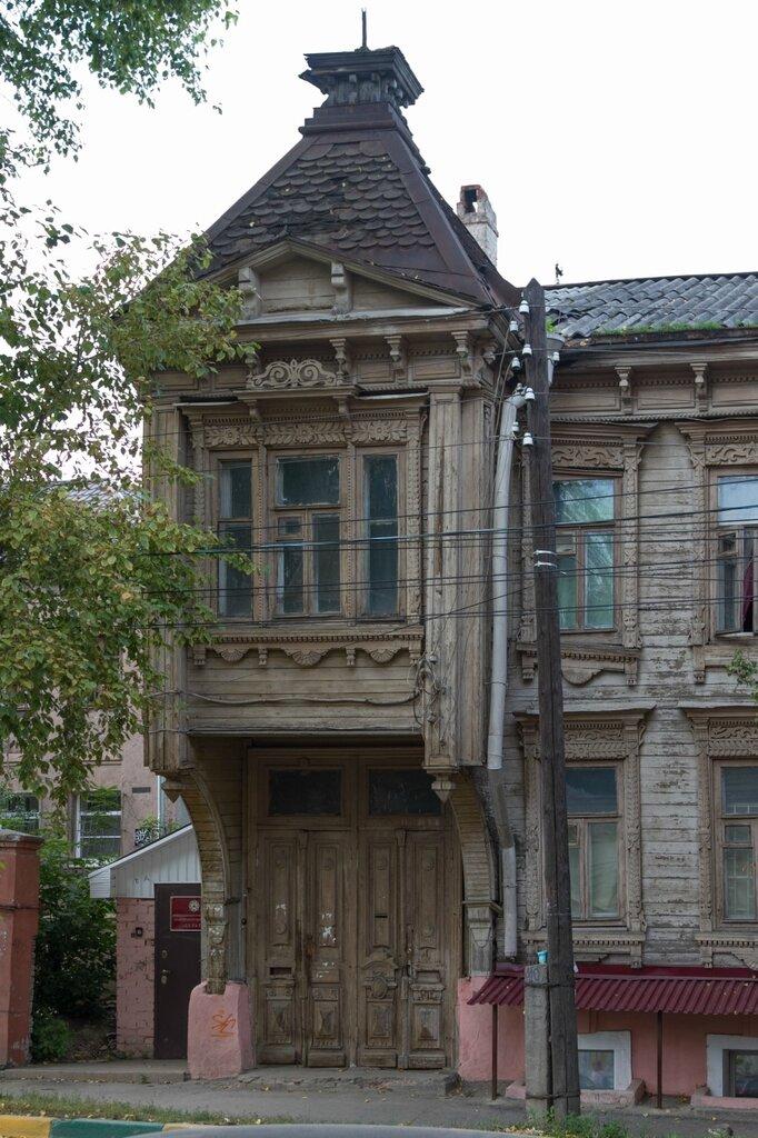 Деревянный дом на Сергиевской улице, Нижний Новгород