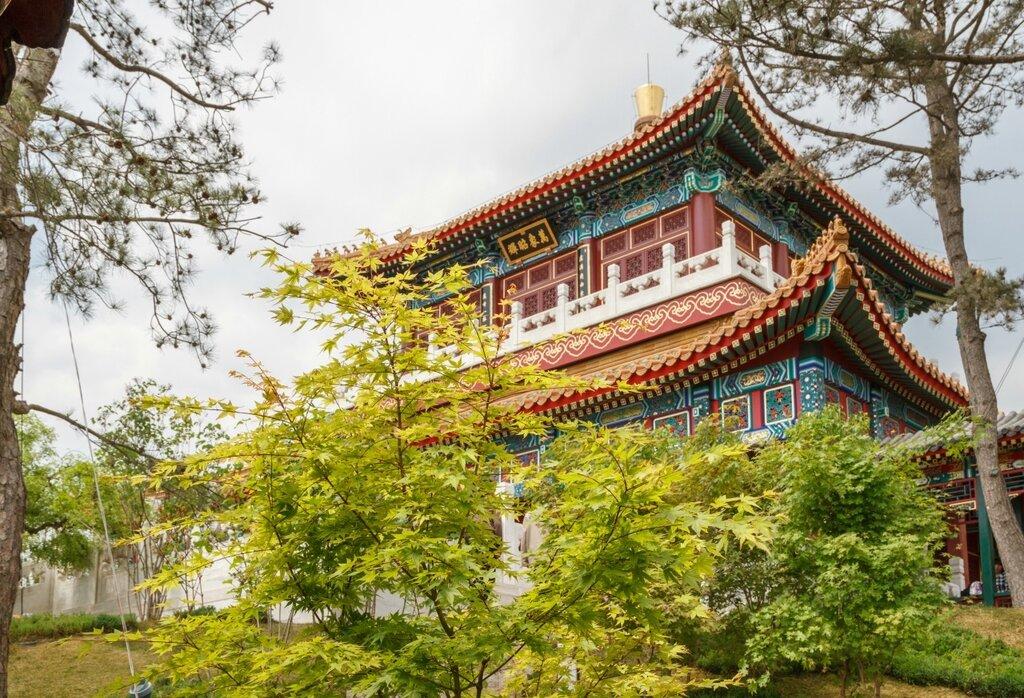 Башня-терем, сад Пекина