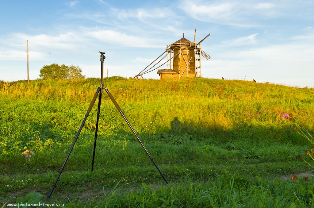 Фото 1. Какой штатив выбрать на зеркалку Nikon или Canon. Алюминиевый трипод Sirui T-2004