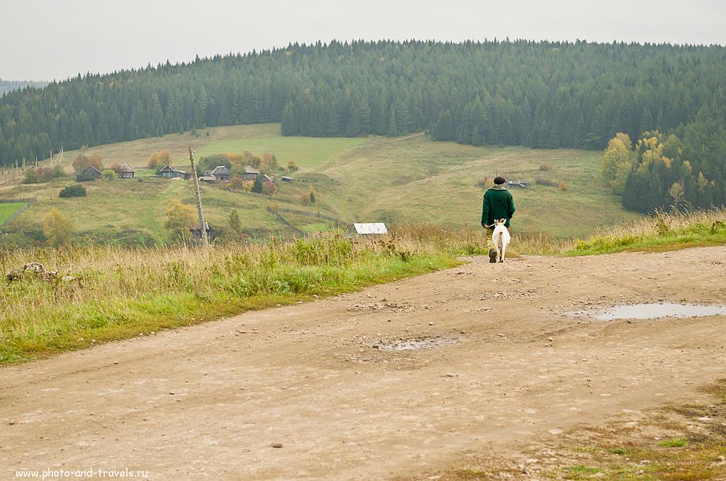 9. Путники. Село Нижнеиргинское в окрестностях Красноуфимска.