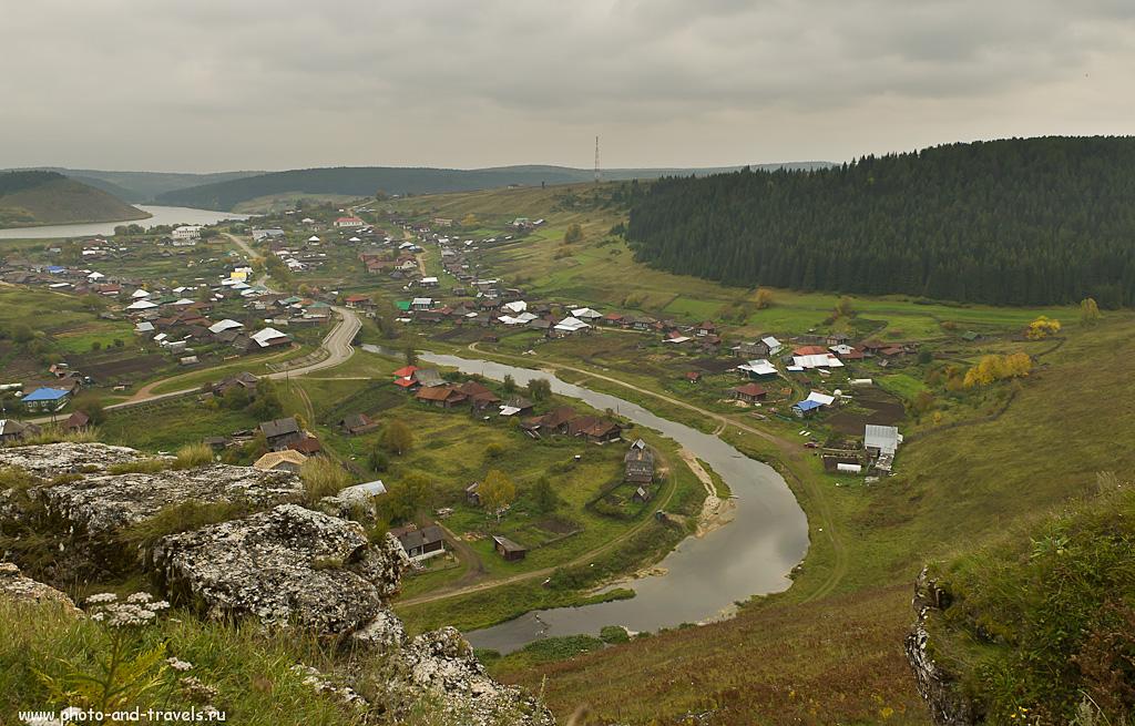 4. Виды на реку Иргина. Прогулка по селу Нижнеиргинское.