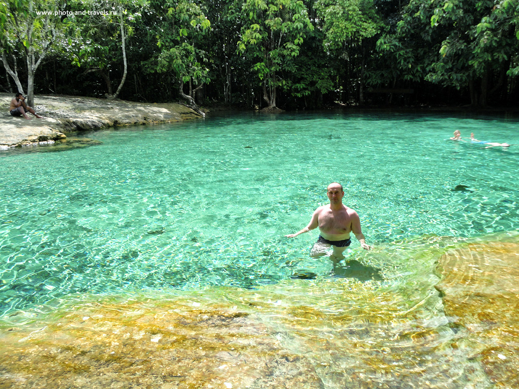 20. Отчет об экскурсии к Emerald Pool (или Изумрудный бассейн) в национальном парке Khao Phanom Bencha National Park в провинции Краби. Самостоятельный отдых в Таиланде.