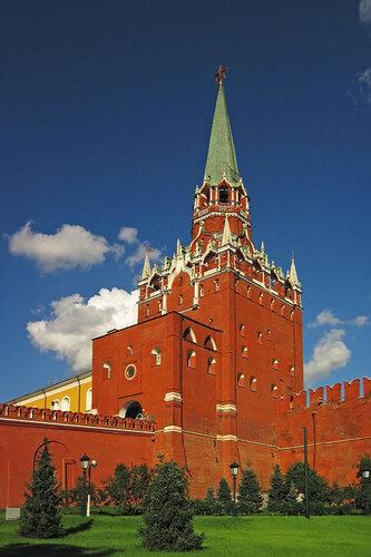 Троицкая башня. Москва, Кремль.