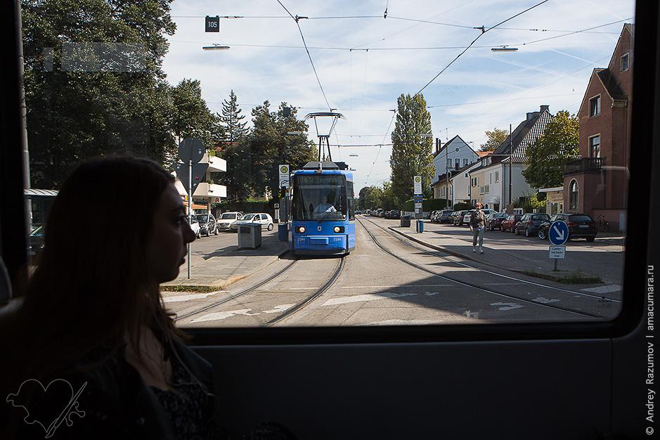 Трамвай в Мюнхене