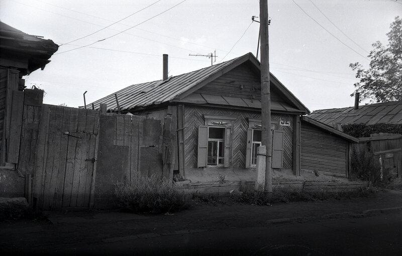 Ул. Российская. Сентябрь 1995 года