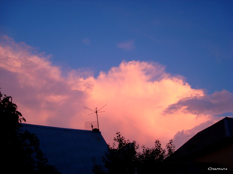 Небеса нам хотят о чем-то сказать?