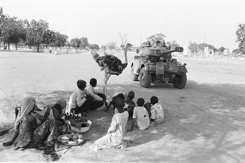 "L'opération ""Manta"" au Tchad."