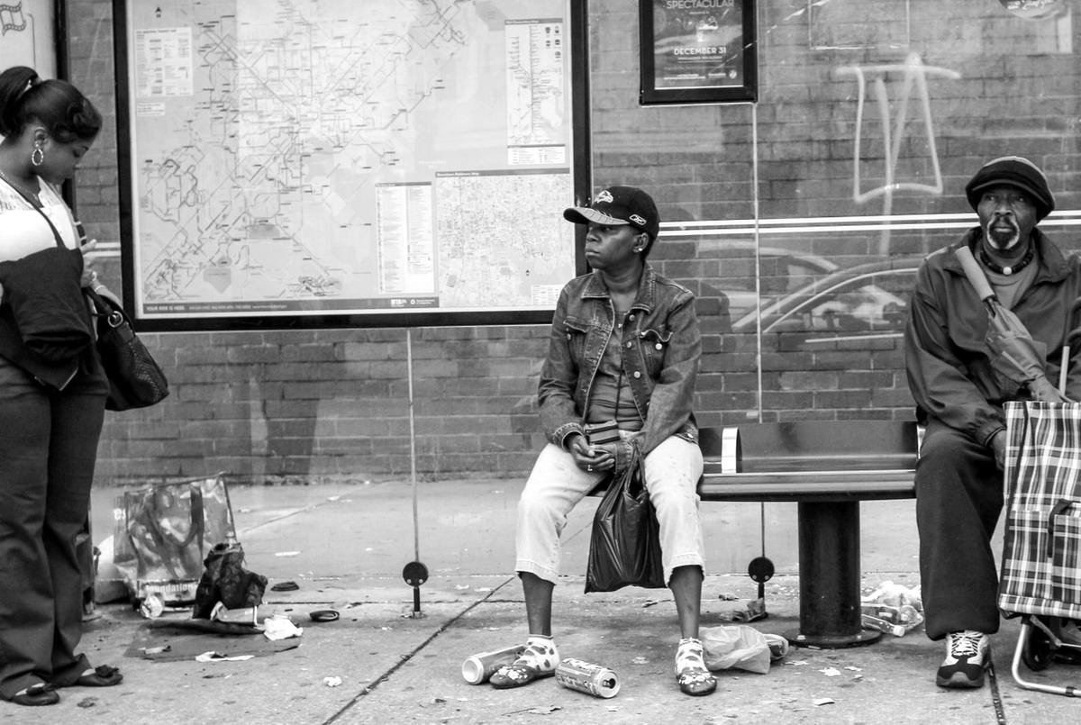 Неулыбчивая Америка: Черно-белая жизнь в бедных кварталах современного Балтимора (4)