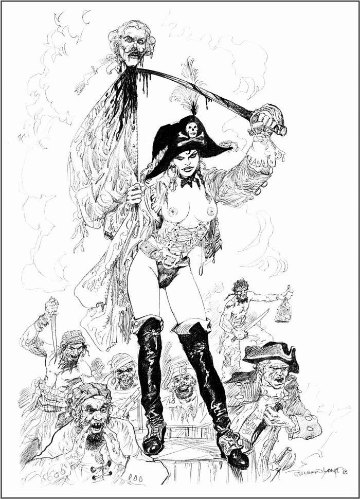 Графика: истории из жизни девушек - пираток (66)