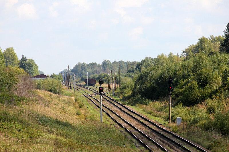 Станция Лямцево