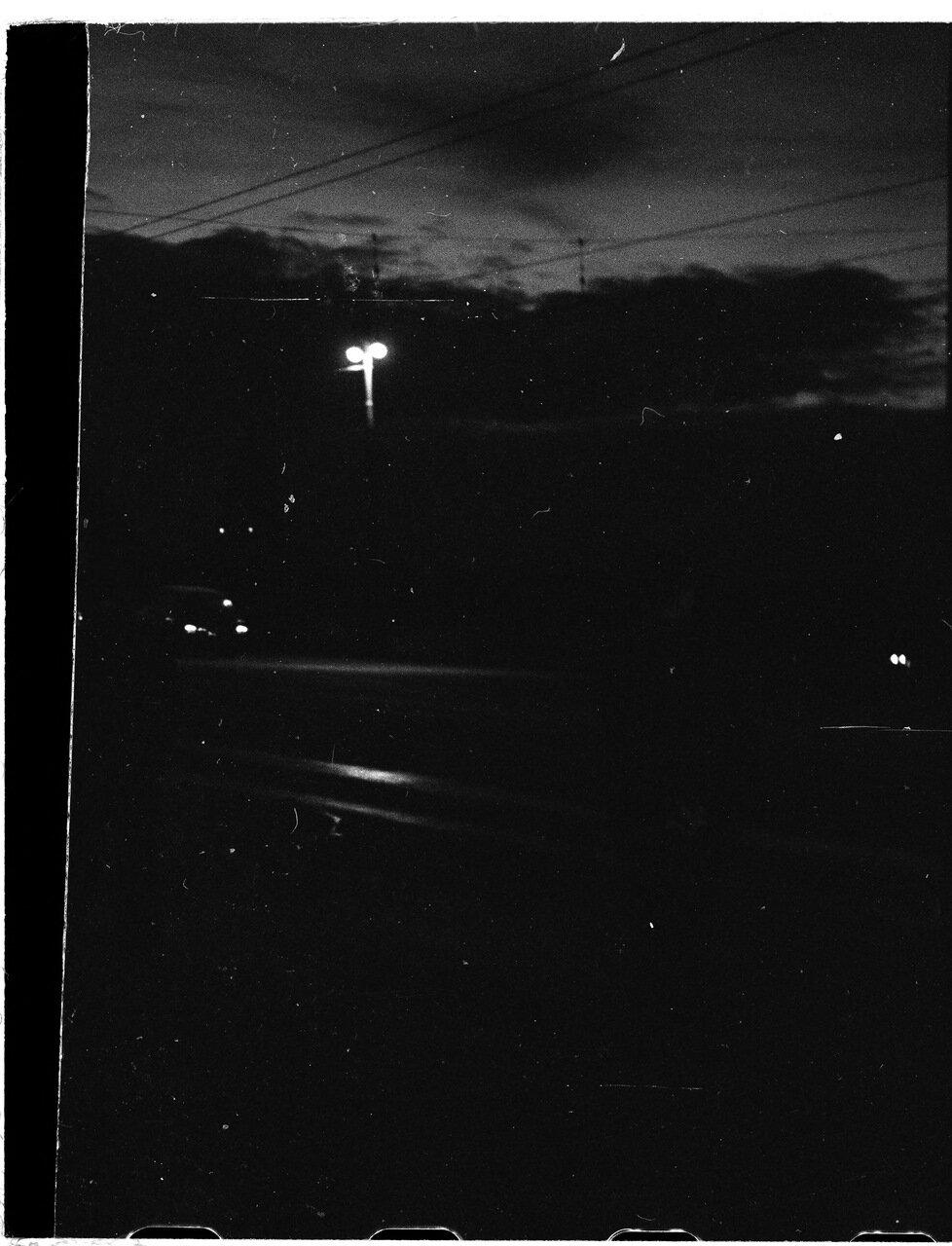 Крымский мост ночью