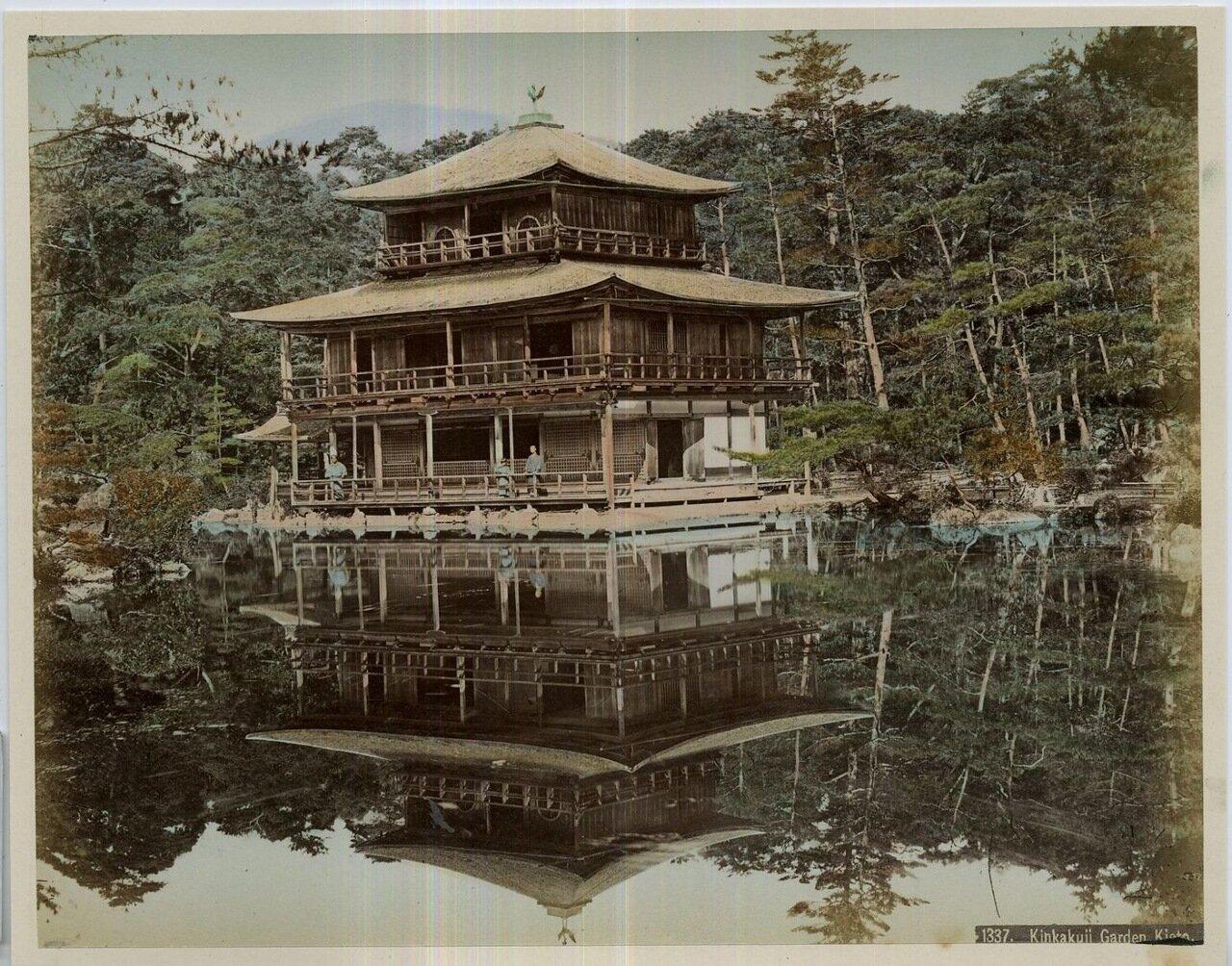 Киото. Сады Кинкаку-дзи