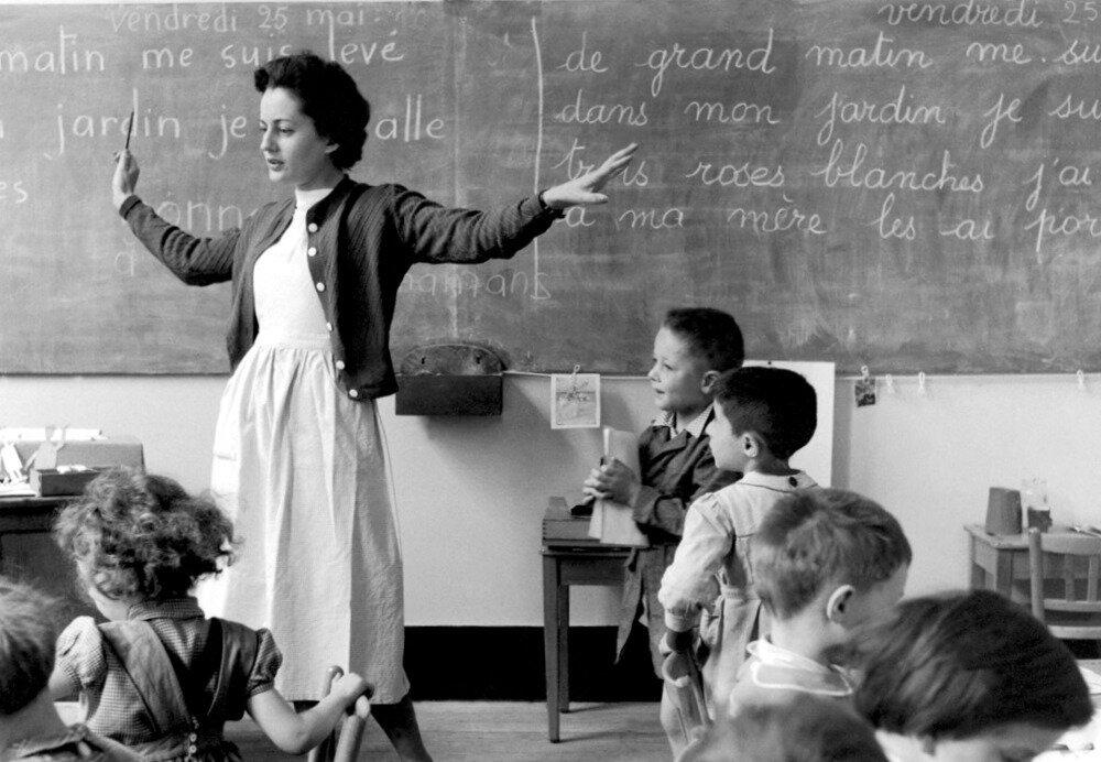 1956. Школьный учитель