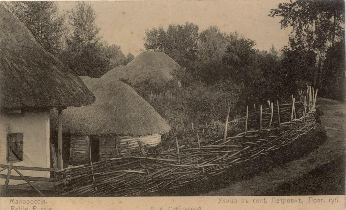 Село Петровка. Улица села