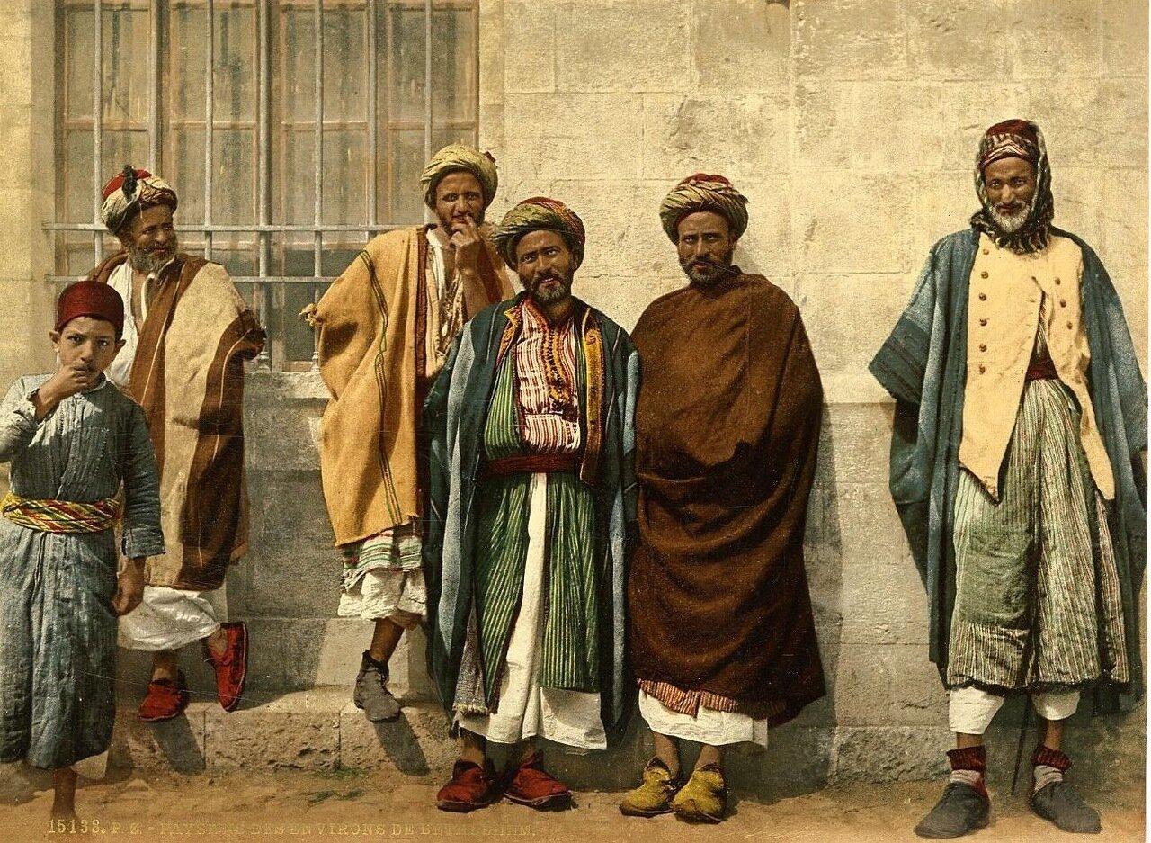 Жители окрестностей Вифлеема