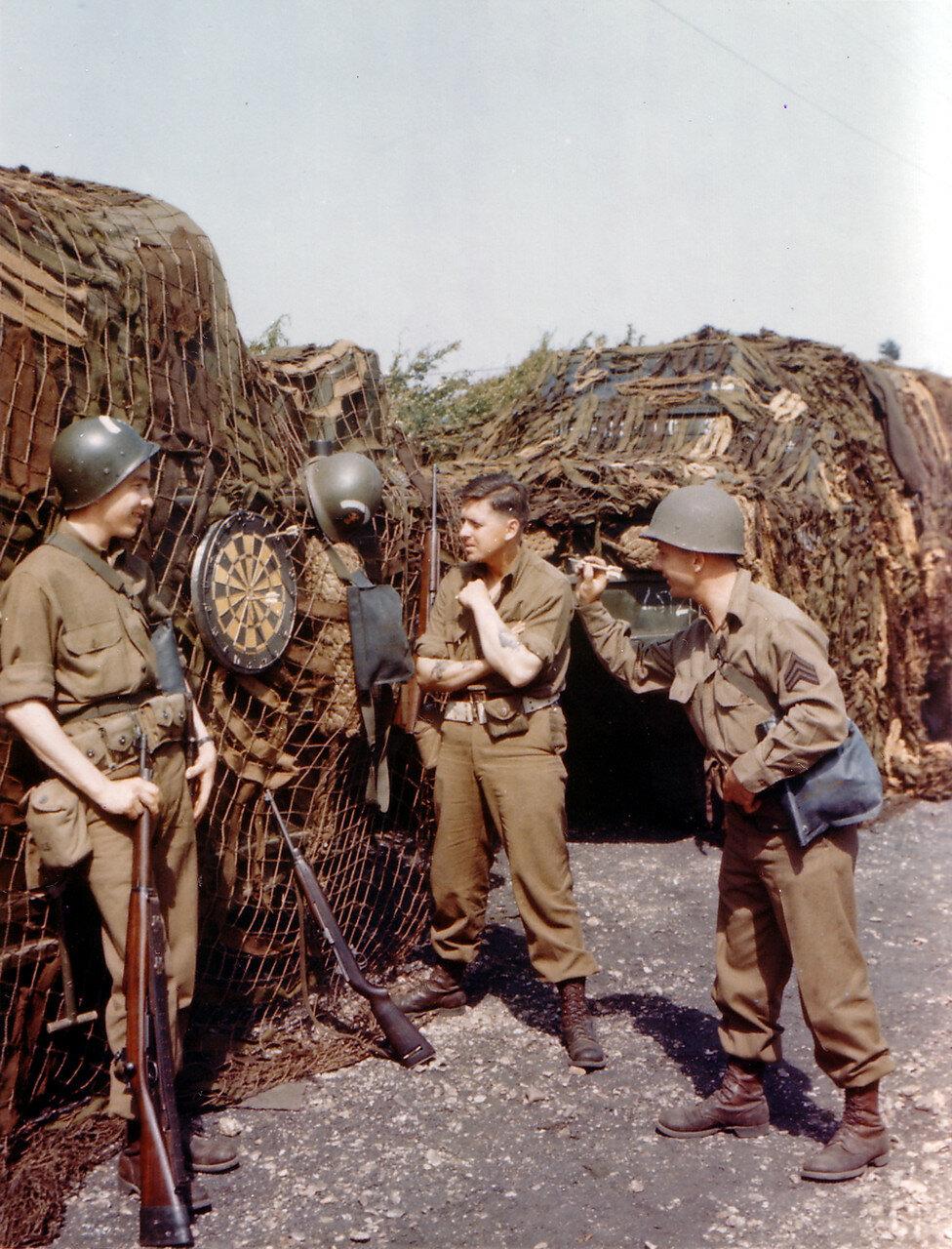 05. Великобритания. Погрузка на корабли в начале июня 1944. Операция Оверлорд