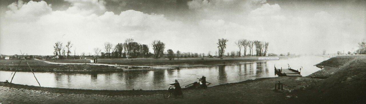 1964. Пейзаж в районе Мельника, Чехословакия