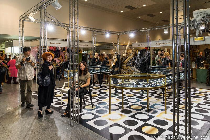 Выставка Бижутерия от Винтажа до Наших дней - удачных кадров и впечатлений!