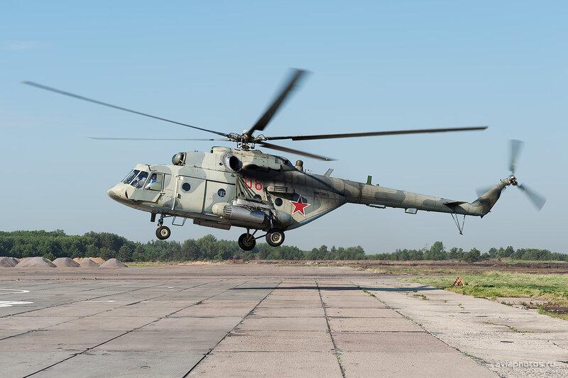 Миль Ми-8МТВ-5 (08 красный) D709537a