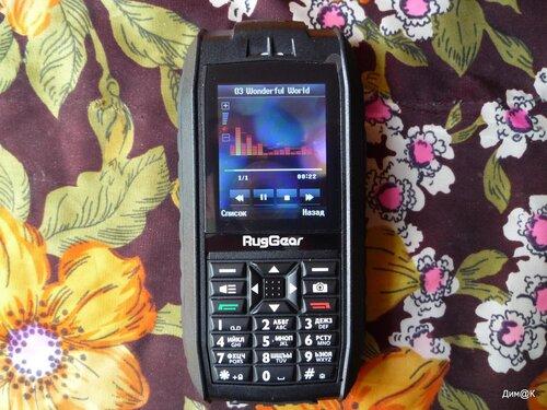 RugGear Mariner RG128 (аудиоплеер)