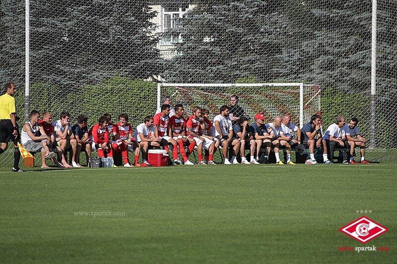 «Спартак» vs «Шинник» 2:1 контрольный матч 2014 (Фото)
