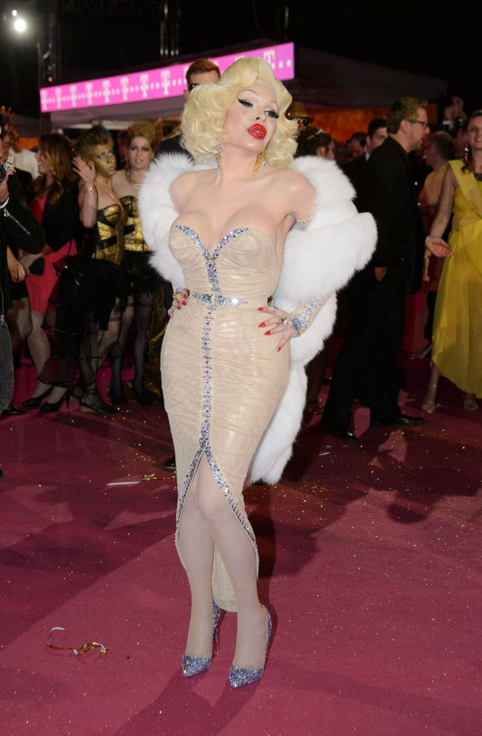 CELEBS ATTEND THE LIFE BALL 2015 GALA AND SHOW IN VIENNA