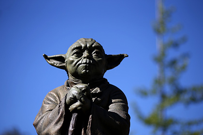 В Австралии украден памятник мастеру Йоде