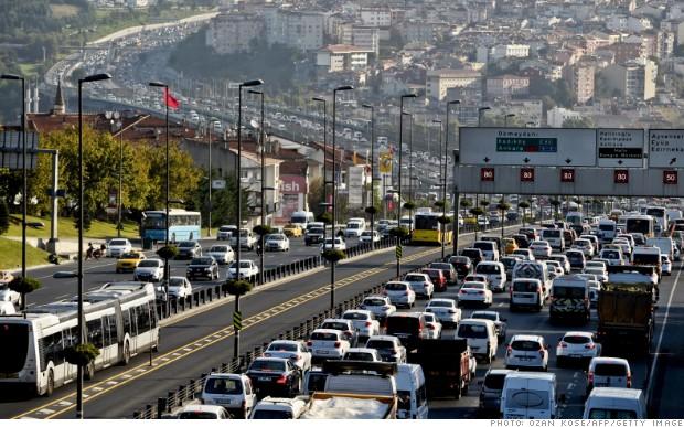 Стамбул — король пробок