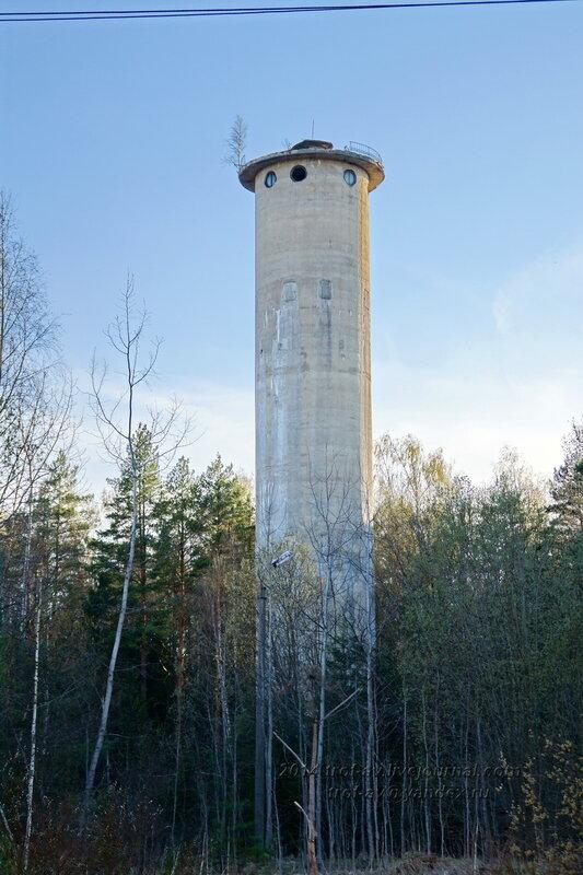 Башня, Разграбленный пансионат Голубое озеро, Одинцовский р-н