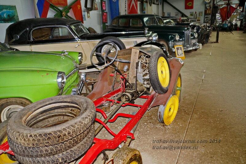Opel-P6 Liferwagen, 1928. Ломаковский музей старинных автомобилей и мотоциклов, Москва