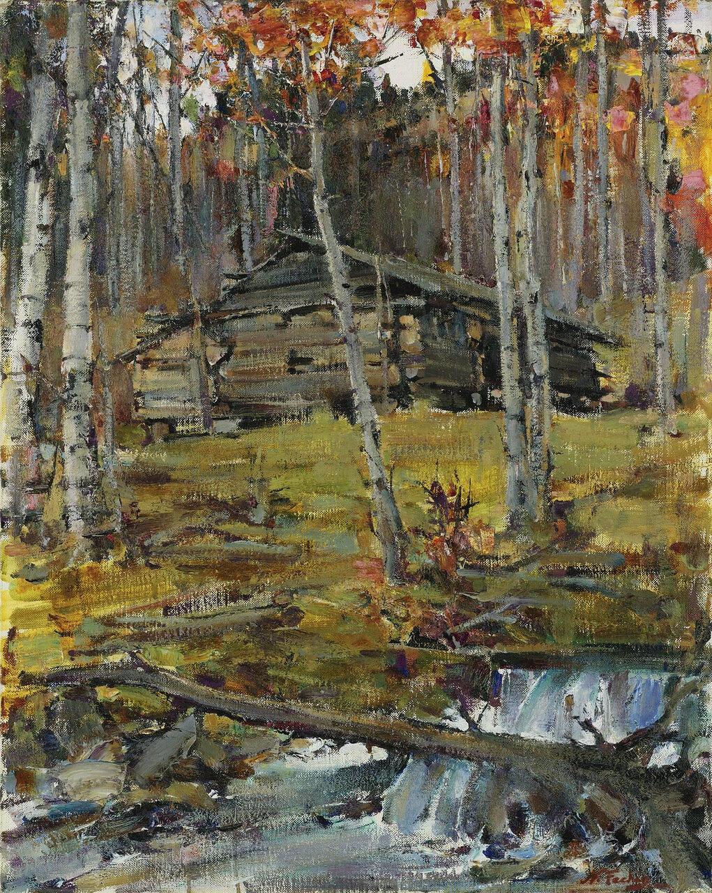 Nicolai Fechin - Autumn Trees, Twinning.jpeg